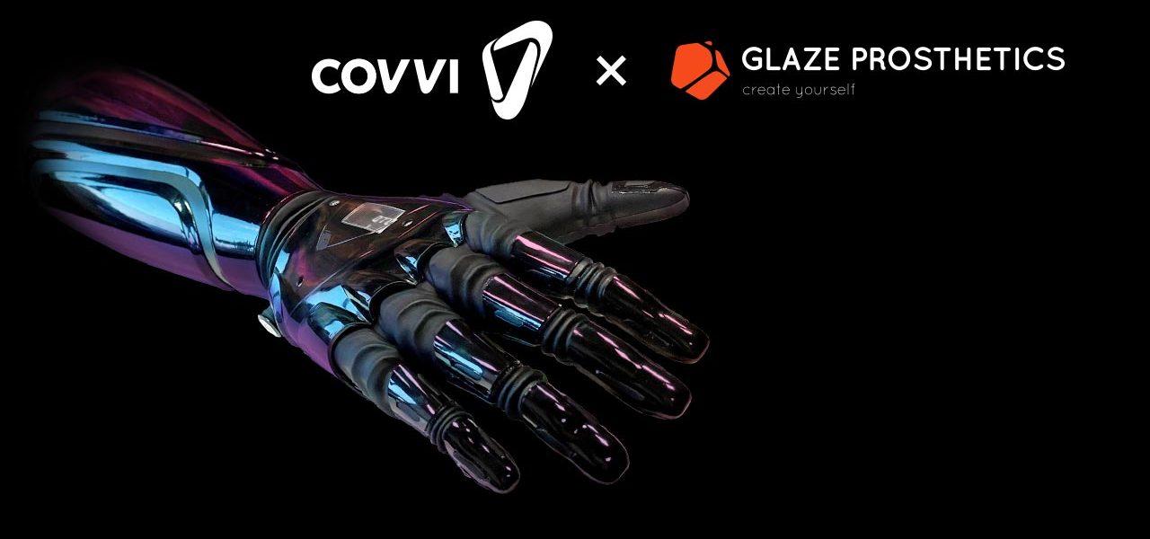 Our Partnership With Glaze Prosthetics | COVVI News And Blogs
