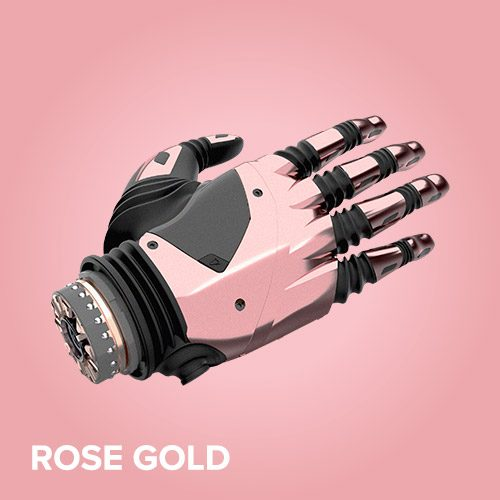 The Nexus Hand Overview: Hand Colours, Rose Gold